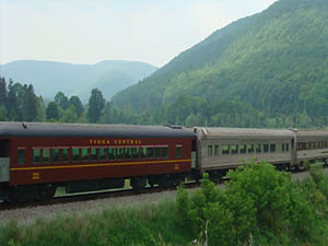 Tioga Central Railroad – Passenger Train